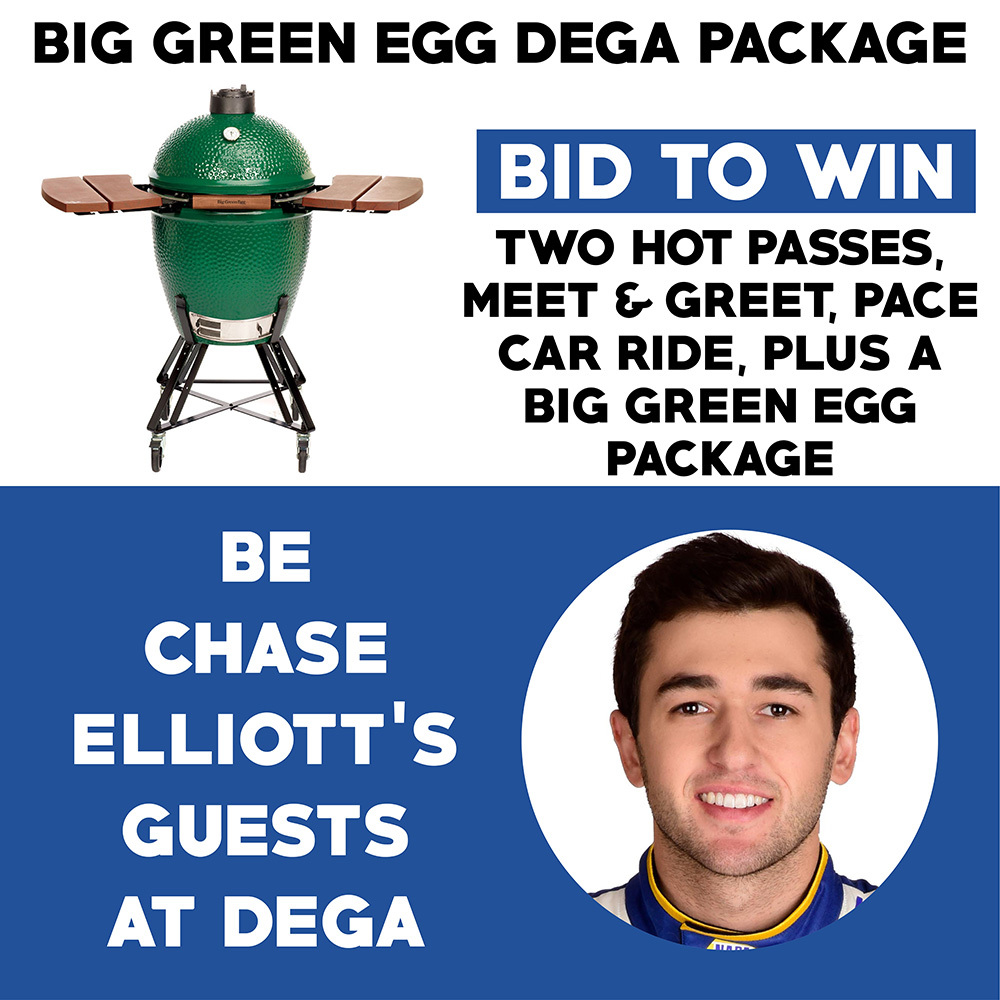 The Big Green Egg / Chase Elliott Talladega Race Fan Package