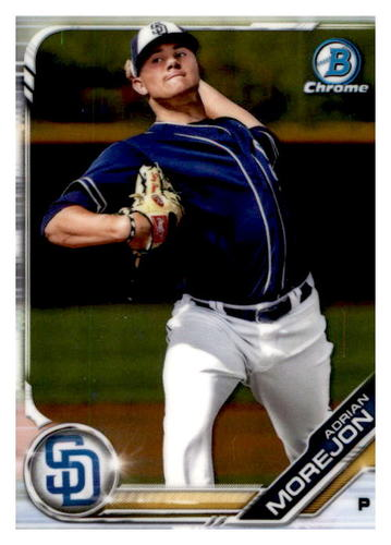 Photo of 2019 Bowman Chrome Prospects #BCP10 Adrian Morejon