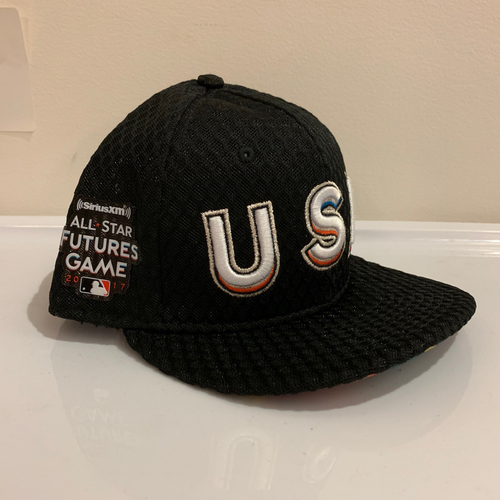 Photo of 2017 All Star Futures Game -  Game Used Cap  - Brian Anderson (Miami Marlins) Size - 7 -1/8