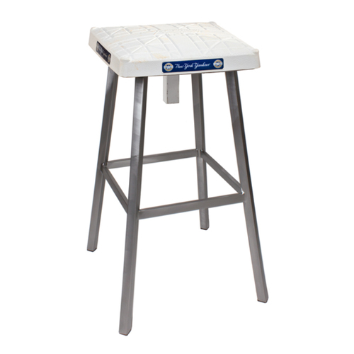 Photo of Tokens & Icons New York Yankees Game Used Base Stool