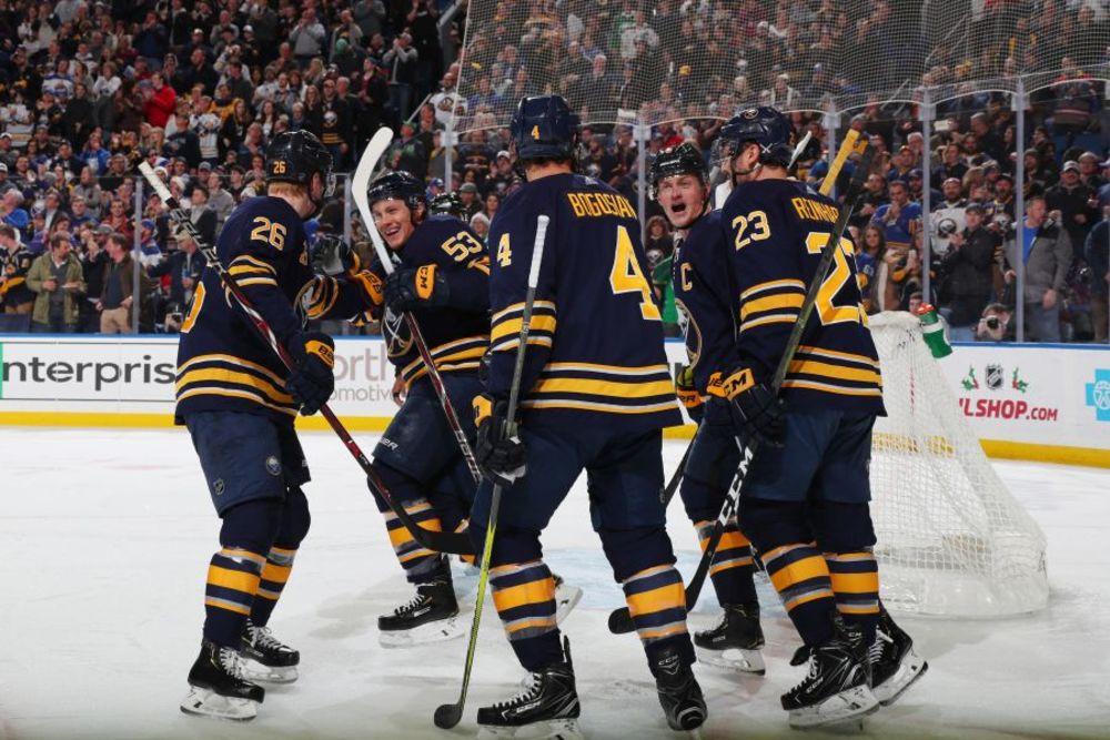Buffalo Sabres vs. New York Islanders 11-2-19, Sec 123, Row 1 Seats 7 & 8