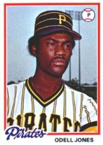 Photo of 1978 Topps #407 Odell Jones RC