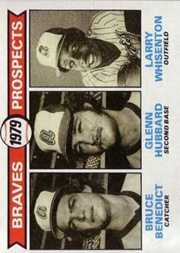 Photo of 1979 Topps #715 Bruce Benedict RC/Glenn Hubbard RC/Larry Whisenton RC