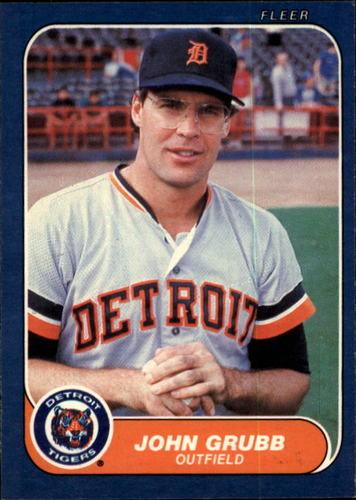 Photo of 1986 Fleer #227 John Grubb