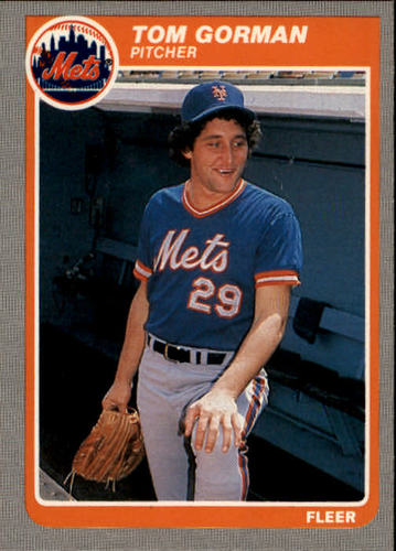 Photo of 1985 Fleer #83 Tom Gorman