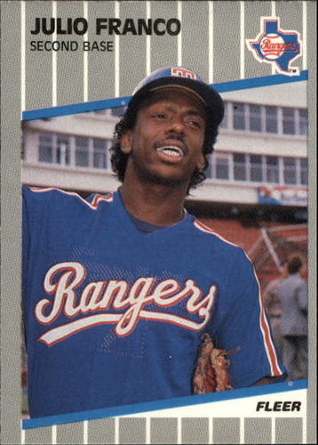 Photo of 1989 Fleer Update #64 Julio Franco