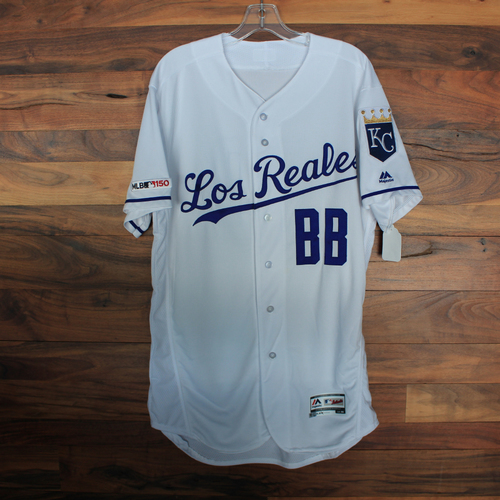 Photo of Team-Issued Jersey: Bat Boy (Size 44)