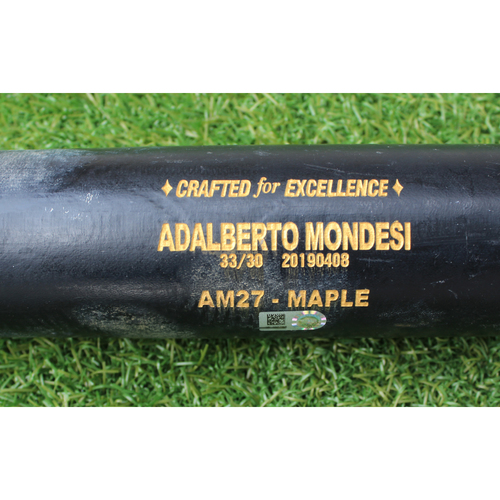 Photo of Team-Issued Bat: Adalberto Mondesi