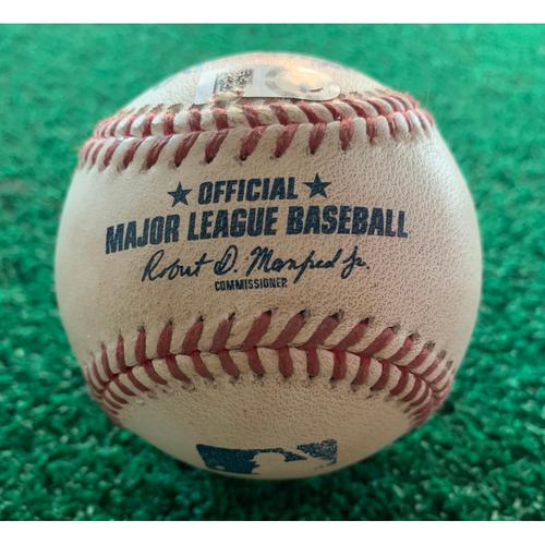 Photo of 2019 Game-Used Baseball 9/10/19 Astros vs. A's: Chris Devenski to Robbie Grossman - Top 5th (Single)