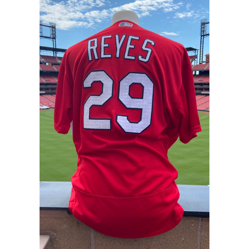 Photo of Cardinals Authentics: Team Issued Alex Reyes Batting Practice Jersey