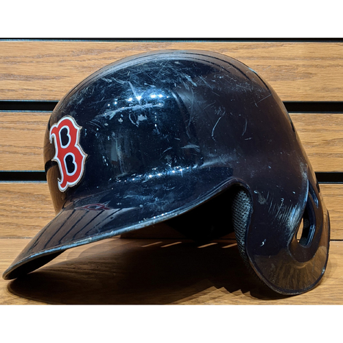 Photo of Xander Bogaerts #2 Game Used Batting Helmet