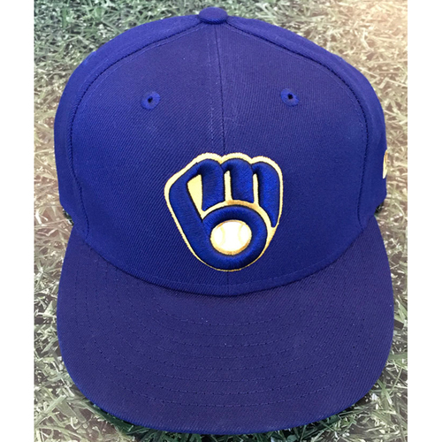 Photo of #58 2020 Team-Issued Milwaukee Brewers Cap