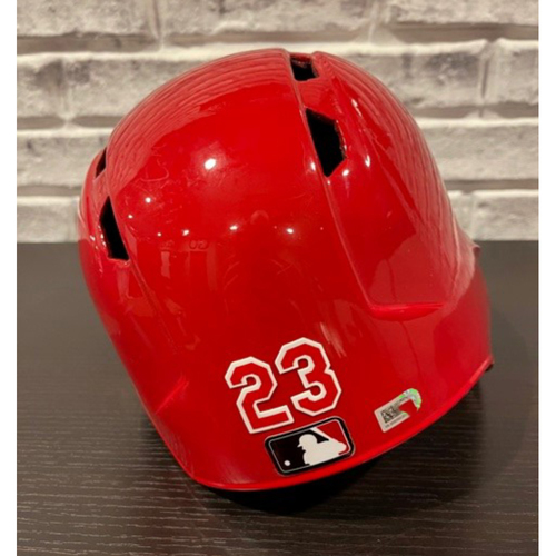 Photo of Team-Issued Helmet -- Right Ear Flap -- Size 7 5/8