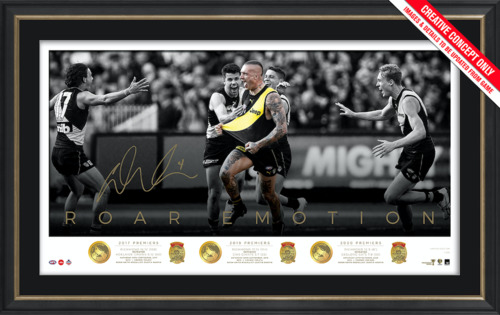 Photo of Dustin Martin Signed Premiership Trilogy Icon Series - Edition #