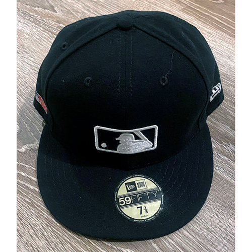 Photo of UMPS CARE AUCTION: Official Specialty MLB 150th Anniversary Umpire Base Cap, Size 7 1/8