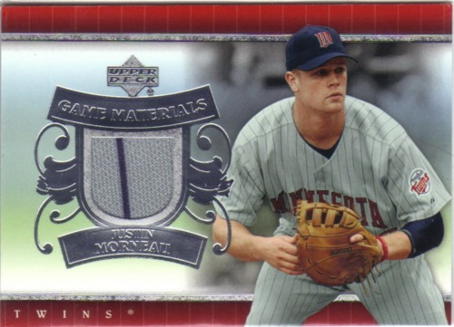 Photo of 2007 Upper Deck UD Game Materials #MO Justin Morneau Jsy S1