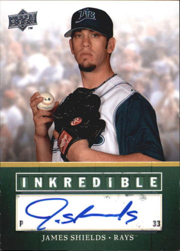 Photo of 2008 Upper Deck Inkredible #JS James Shields