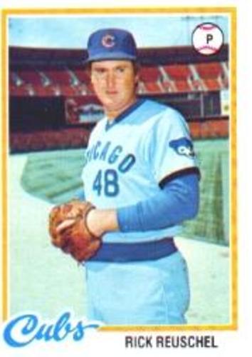 Photo of 1978 Topps #50 Rick Reuschel