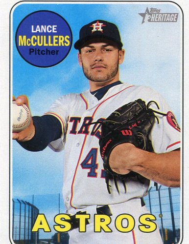 Photo of 2018 Topps Heritage #318 Lance McCullers