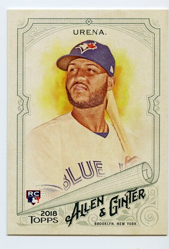 Photo of 2018 Topps Allen and Ginter #322 Richard Urena SP RC