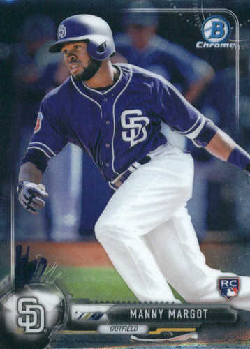 Photo of 2017 Bowman Chrome #53 Manny Margot RC