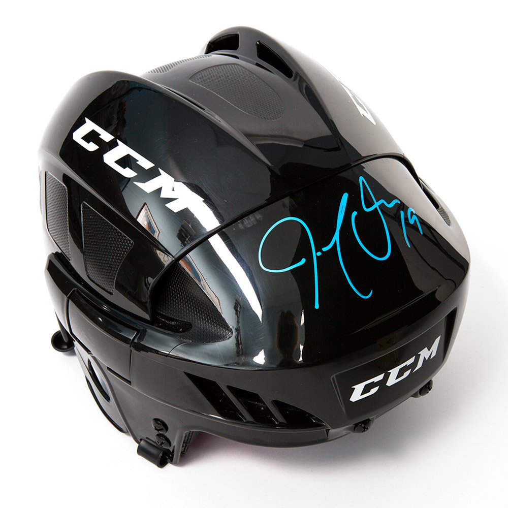 Joe Thornton Signed CCM Hockey Helmet - San Jose Sharks