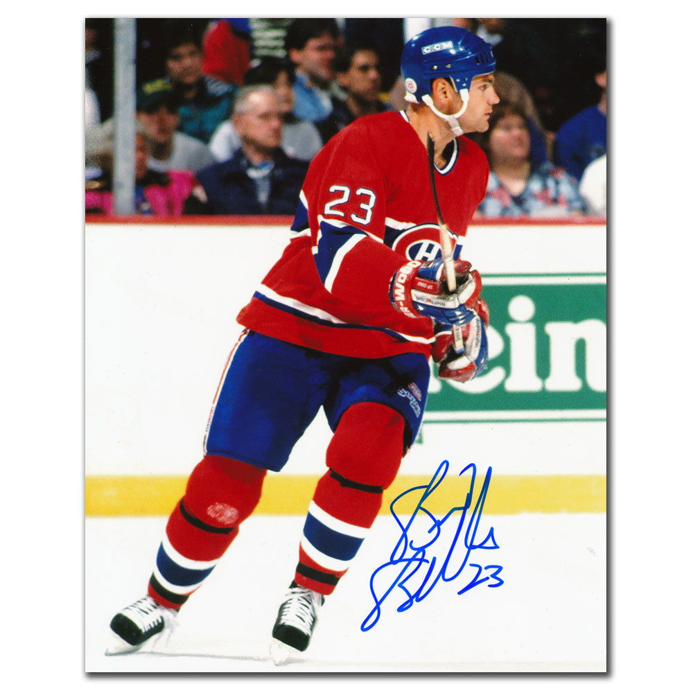 Brian Bellows Montreal Canadiens RUSH Autographed 8x10