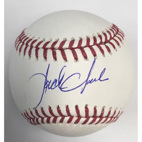 Jack Clark Autographed Baseball