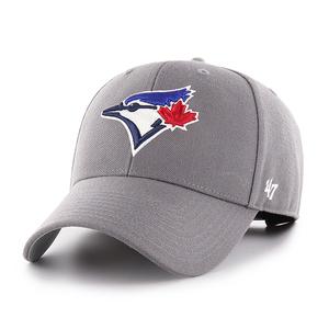 Toronto Blue Jays MVP Dark Grey Cap by '47 Brand