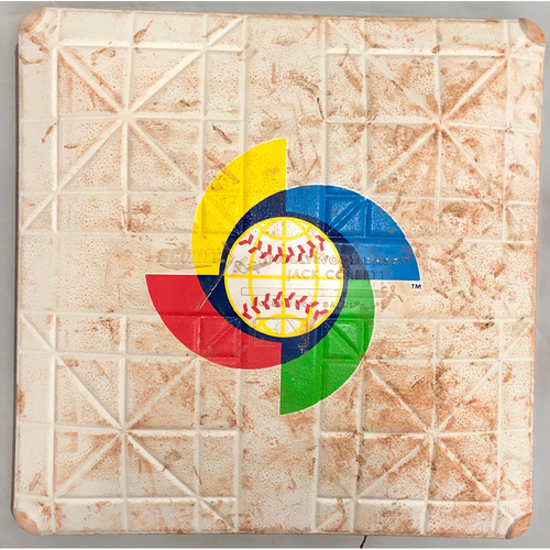 Photo of 2017 World Baseball Classic Game Used Base- 3rd Base (Innings 1-6) (China at Japan)