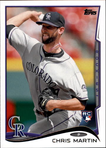 Photo of 2014 Topps Update #US294 Chris Martin RC