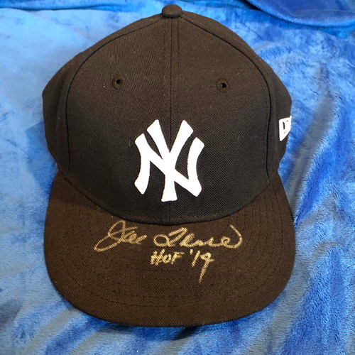 Photo of UMPS CARE AUCTION: Joe Torre Signed Yankees Cap, Size 7 3/8