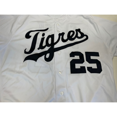 Photo of Team-Issued Fiesta Tigres Jersey: Dave Clark
