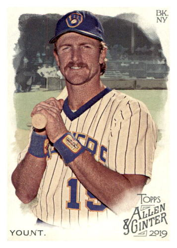 Photo of 2019 Topps Allen and Ginter #352 Robin Yount SP