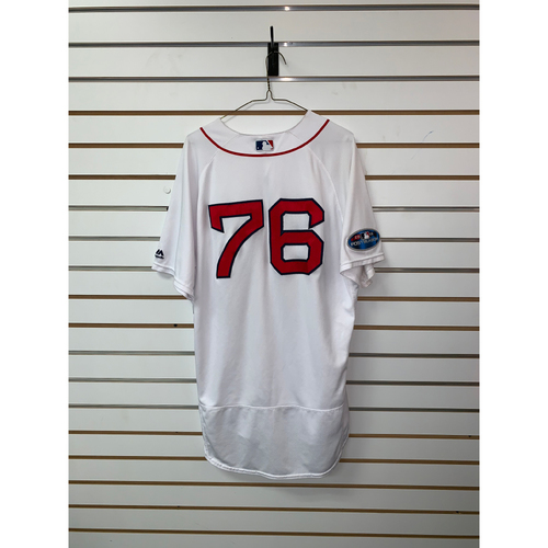 Photo of Hector Velazquez Game Used September 29, 2018 Home Jersey