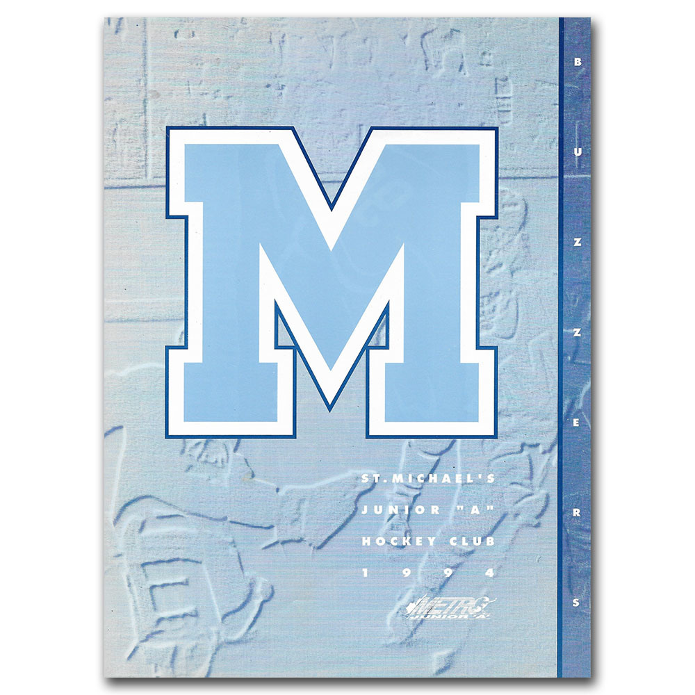 1994 St. Michael's Buzzers Junior A Yearbook