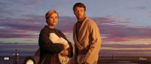 Owen Lars and Beru Whitesun