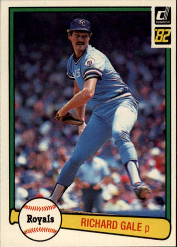 Photo of 1982 Donruss #138 Rich Gale