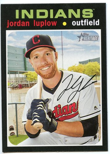 Photo of 2020 Topps Heritage #356 Jordan Luplow