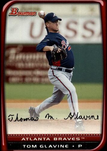 Photo of 2008 Bowman #41 Tom Glavine
