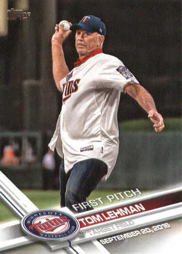 Photo of 2017 Topps First Pitch #FP38 Tom Lehman