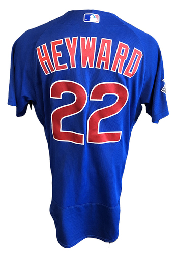 Photo of Jason Heyward Team-Issued Jersey -- 2020 Season -- Size 44T + 1B