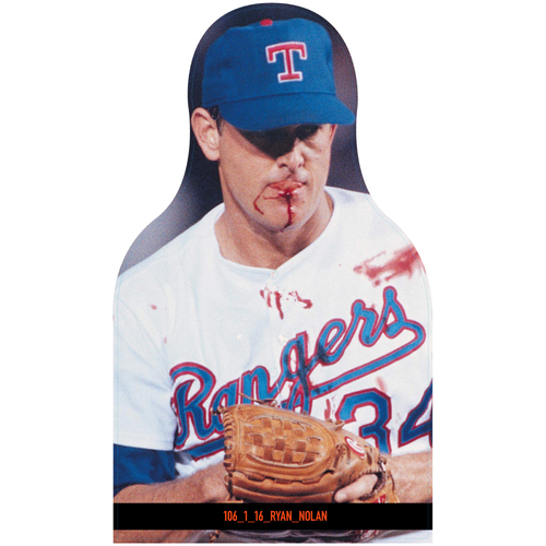 Photo of Giants Community Fund: Giants Texas Rangers Cutouts (Not MLB Authenticated, COA Included)
