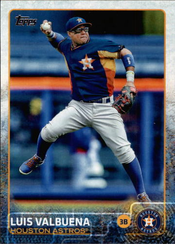 Photo of 2015 Topps #621 Luis Valbuena