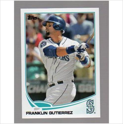 Photo of 2013 Topps #340 Franklin Gutierrez