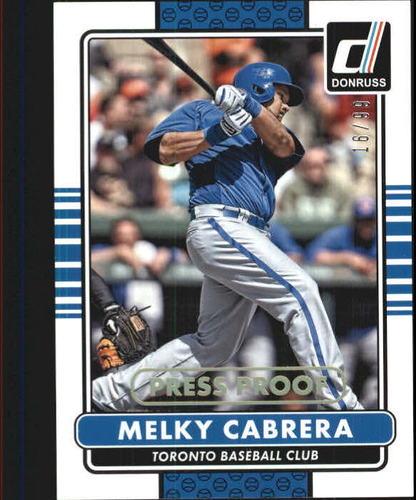 Photo of 2015 Donruss Press Proofs Gold #174 Melky Cabrera