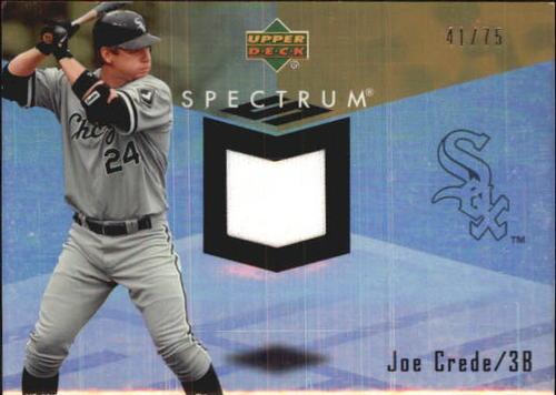 Photo of 2007 Upper Deck Spectrum Swatches Gold #JC Joe Crede
