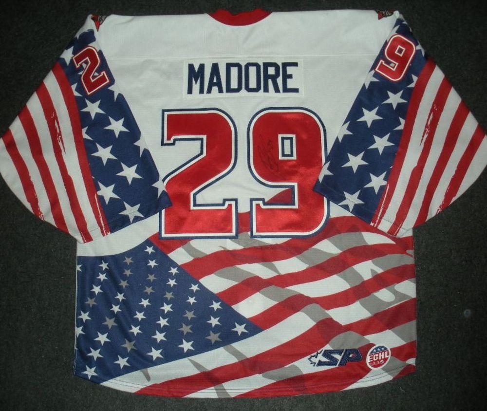 Rob Madore - Golden Goalie - Cincinnati Cyclones - Autographed Game-Worn Jersey - Worn 2/4/14