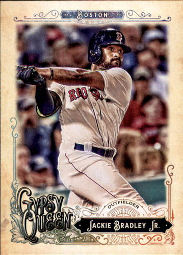 Photo of 2017 Topps Gypsy Queen #167 Jackie Bradley Jr.