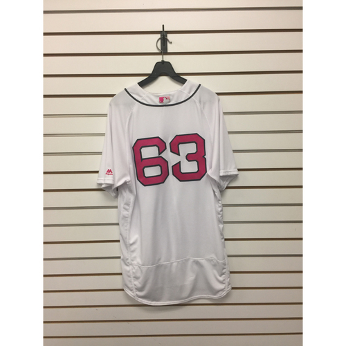 Robby Scott Game-Used Mother's Day Home Jersey